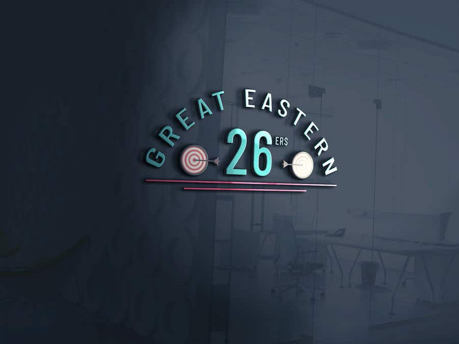 Contest Entry #31 for GE (Great Eastern) 26ers. Darts team. 26 is a score when you hit 20,5,1 a fairly bad throw. So would like this encorporated into the design. A full polo shirt