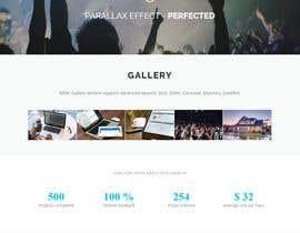 Nro 23 kilpailuun New One-Page (Scrolling with Paralax) Website Contest! käyttäjältä kollolkhan007