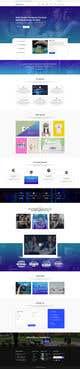 Miniatura da Inscrição nº 16 do Concurso para Social Media Marketing Agency Web site Mock Up