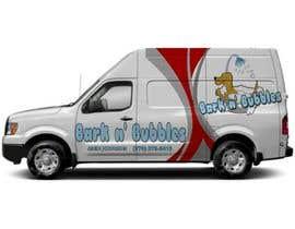 #20 para Bark n' Bubbles Logo and Van Graphics por muhdirshad
