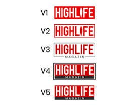 #779 для Design a Logo for Highlife Magazine от ExpertArtZ
