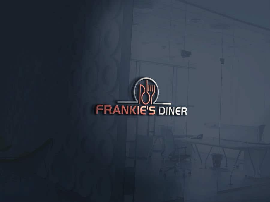 Penyertaan Peraduan #88 untuk Frankie's Diner Logo