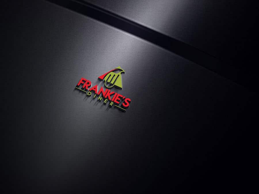 Penyertaan Peraduan #66 untuk Frankie's Diner Logo