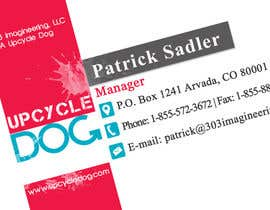 #5 untuk Design some Business Cards for upcycledog.com oleh acelobos9