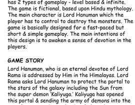 Nro 6 kilpailuun Make Innovative Game Design Document käyttäjältä cosmicK00