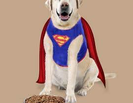 #5 для Picture of a 'super' dog eating от saurov2012urov