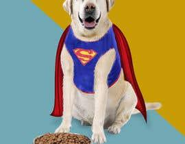 #6 для Picture of a 'super' dog eating от saurov2012urov