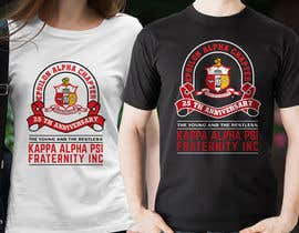 nº 68 pour T-Shirt Design for Kappa Alpha Psi Fraternity, Inc. par ubhiskasibe