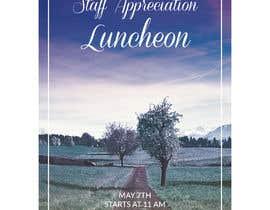 #7 para Luncheon Flyer por ziauddin1973