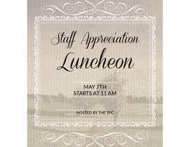 #21 para Luncheon Flyer por ziauddin1973