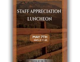 #14 para Luncheon Flyer por Mitchell29