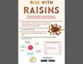 #15 para Poster design for Wellcure - rise with raisins por mayurbarasara