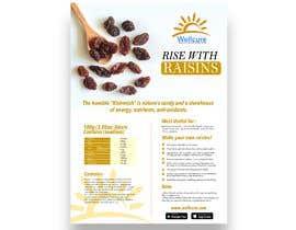 #6 para Poster design for Wellcure - rise with raisins por tsanjeev6252
