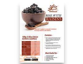 #9 para Poster design for Wellcure - rise with raisins por tsanjeev6252