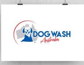 nº 92 pour Dog Wash Australia Logo par fourtunedesign