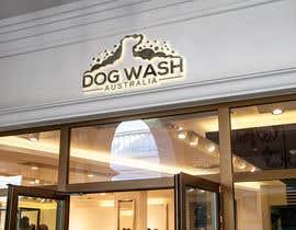 nº 113 pour Dog Wash Australia Logo par imamhossainm017