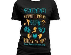 #69 for Design a T-shirt promoting Media Arts af zinnatunnahar73