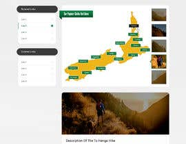 #26 for Design a website for walks & hikes in New Zealand af pchand469