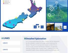 LahlobY tarafından Design a website for walks & hikes in New Zealand için no 33