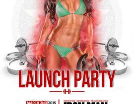 #12 for Design a Flyer for a Hollywood Fitness Party af LuisEduarte