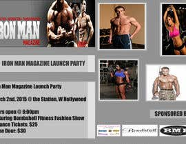 #1 for Design a Flyer for a Hollywood Fitness Party af Flostericos