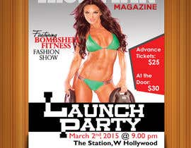 #14 for Design a Flyer for a Hollywood Fitness Party by vinodpoints