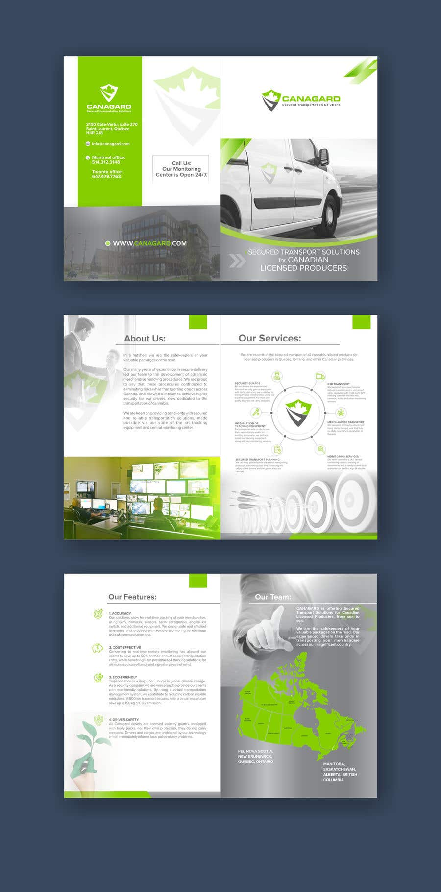 Entry #76 by shinydesign6 for Build corporate PDF using