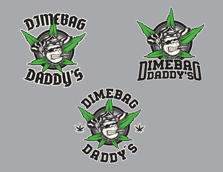 Penyertaan Peraduan #206 untuk LOGO Design Contest (Dimebag Daddy's)