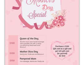 #67 para Poster/Flyer to promote business - Mothers Day por SLP2008