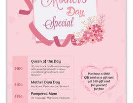 #68 para Poster/Flyer to promote business - Mothers Day por SLP2008