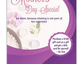 #69 para Poster/Flyer to promote business - Mothers Day por SLP2008