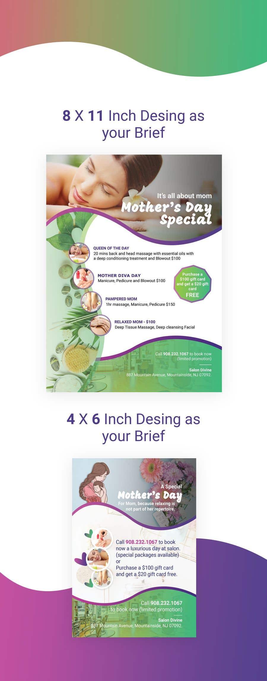 Inscrição nº 30 do Concurso para Poster/Flyer to promote business - Mothers Day