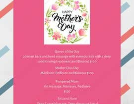 #66 para Poster/Flyer to promote business - Mothers Day por QeylaJasmy