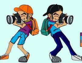 #118 for Photographer Cartoon Character af mdmokibur