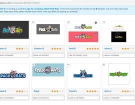 Nasu12 tarafından Help Pick a logo. Everyone Gets Paid! Prize Divided -Pack Rats- Poll için no 90