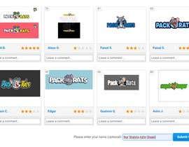 nurshahiraazlin tarafından Help Pick a logo. Everyone Gets Paid! Prize Divided -Pack Rats- Poll için no 81