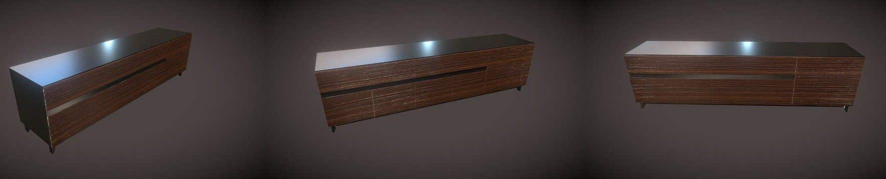 Proposition n°38 du concours Render an animated file for configuring and re-configuring a wall bookcase system.