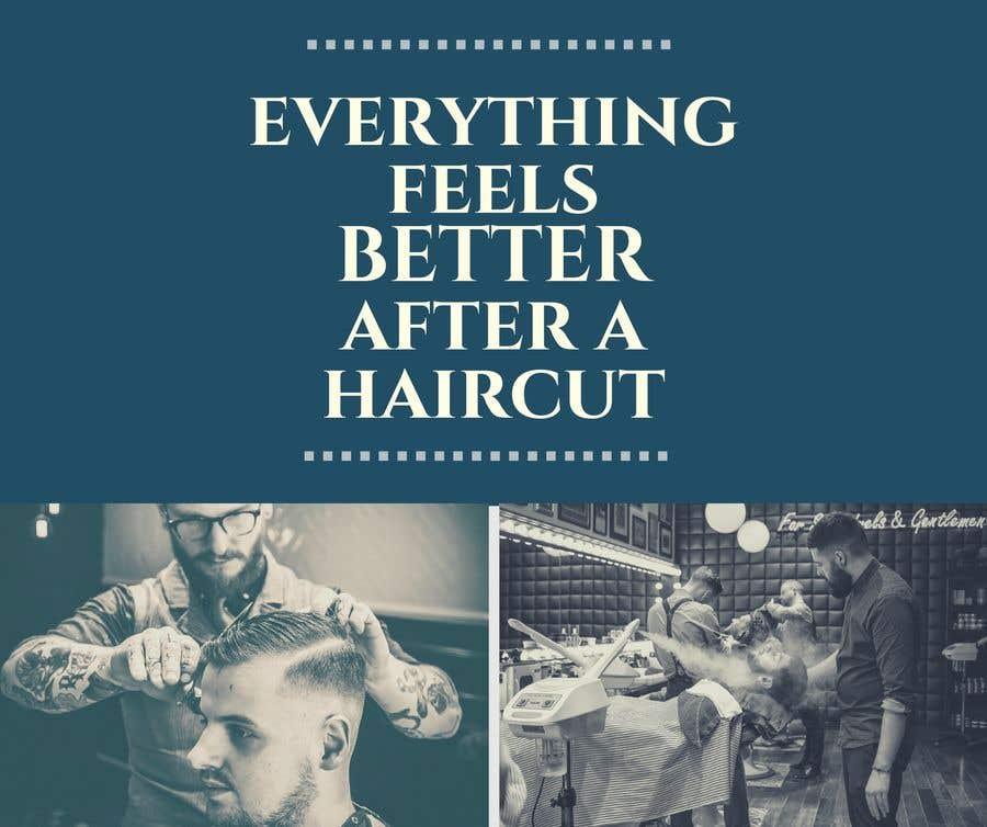 Penyertaan Peraduan #71 untuk Ad Copy For barbershop, to get haircut