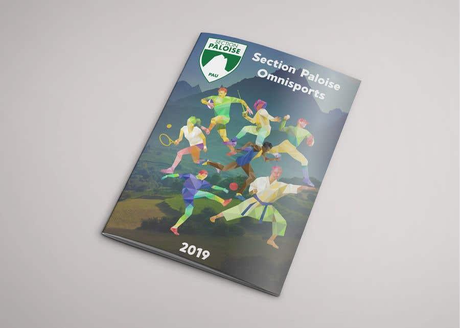 Proposition n°14 du concours Couverture magazine Section Paloise Omnisports