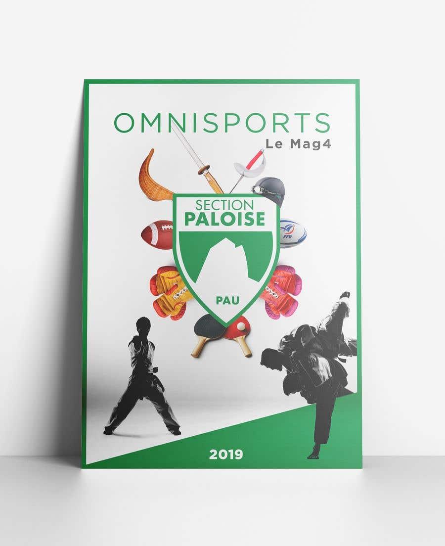 Proposition n°19 du concours Couverture magazine Section Paloise Omnisports