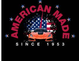 #48 for Corvette American Made Tee Shirt by Shtofff