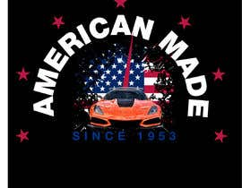 #51 for Corvette American Made Tee Shirt by Shtofff