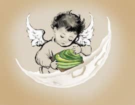 #16 cho Tshirt with Logo of Angel eating Avocado Toast bởi ridhiesingh