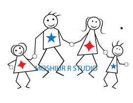 Moshiur0101 tarafından NEED A VECTOR 'HAPPY FAMILY' DRAWING. no bids from indiapak için no 1