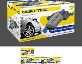 Nro 3 kilpailuun Prepare packaging for Brake Pads and Brake Discs käyttäjältä MaxoGraphics