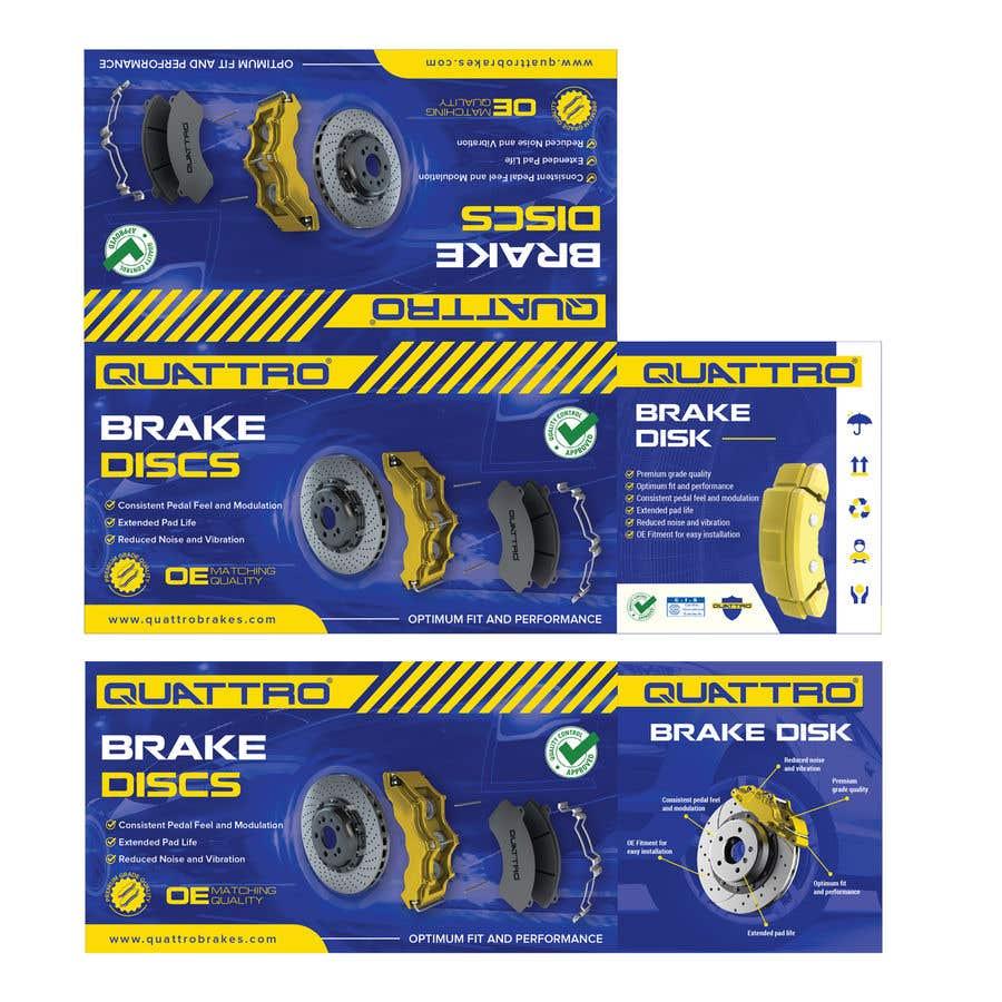 "Intrarea #20 pentru concursul ""Prepare packaging for Brake Pads and Brake Discs"""