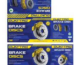 #21 for Prepare packaging for Brake Pads and Brake Discs by MaxoGraphics
