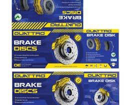 Nro 21 kilpailuun Prepare packaging for Brake Pads and Brake Discs käyttäjältä MaxoGraphics