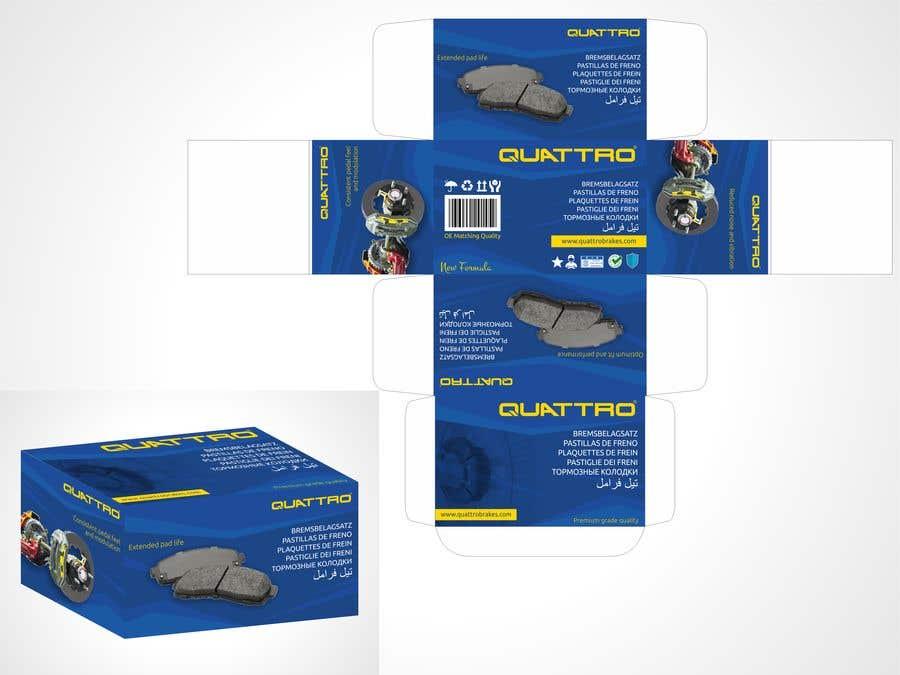 "Intrarea #7 pentru concursul ""Prepare packaging for Brake Pads and Brake Discs"""