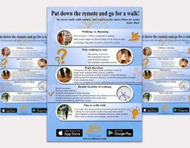 #8 для Poster design for wellcure - Put down the remote and go for a walk. от stefanbindar